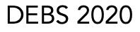 DEBS 2020 Logo